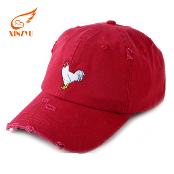 Custom Embroidered Logo Dad Hat Wholesale Worn-Out Distressed Baseball Cap 97b78e30716