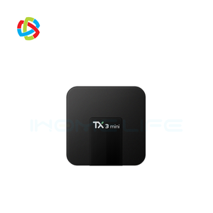 cheapest Android 7.1 tv box 2GB Ram 16GB Rom 4k media player WIFI DLNA Airplay Android iptv set top box TX3 mini