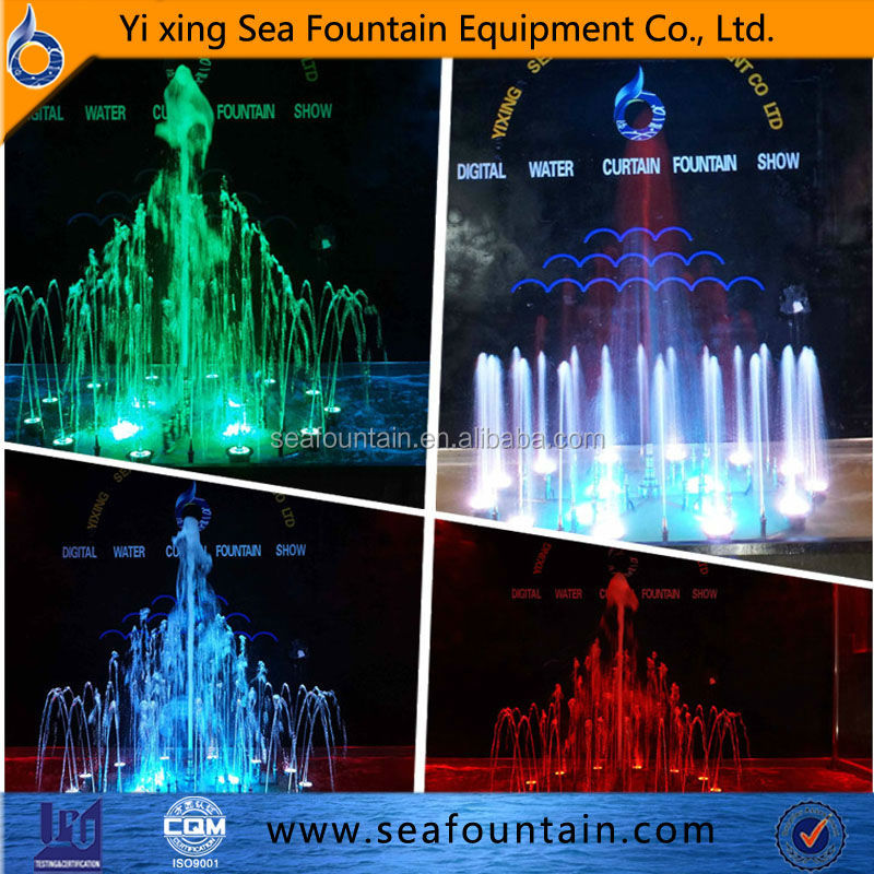Full color LED lights portable pulley system by experienced factory