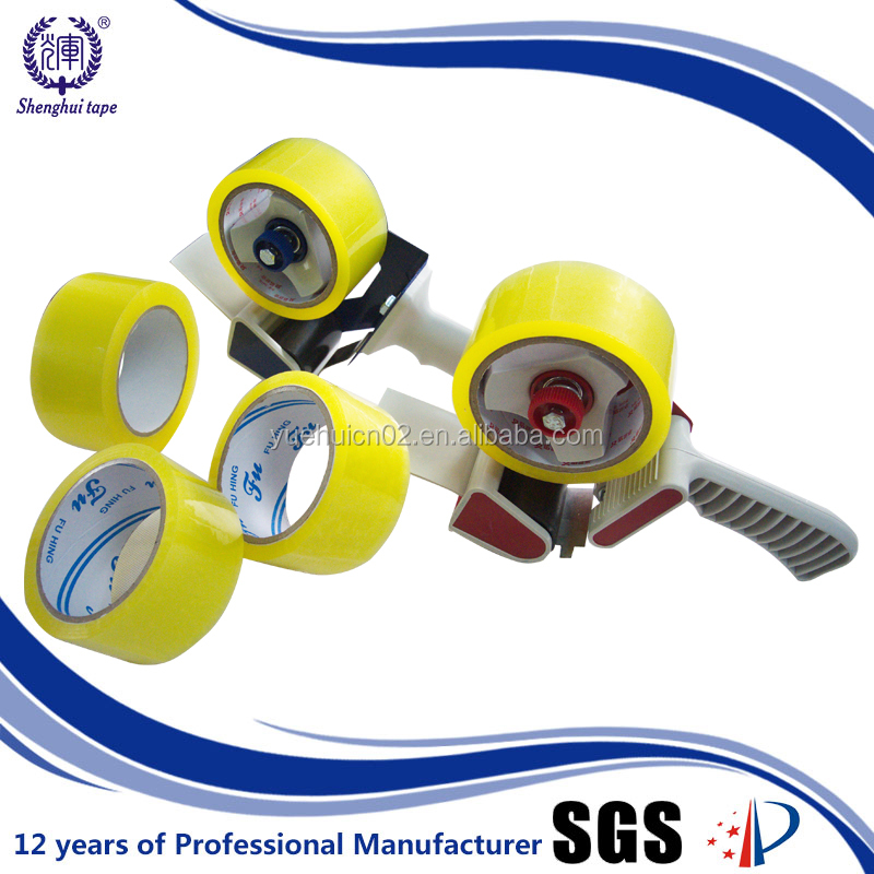 Hot Sale in Korea 63mic Thickness Yellowish Clear Opp Tape