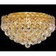 Modern fancy crystal indian ceiling lighting