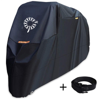 Customized diy Outdoor Bag black Rain waterproof windproof Dustproof Heavy Duty Material sun protection Motorcycle cover pattern