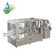 Automatic Pure Water Mineral Water Liquid Filling Machine / Equipment / Plant