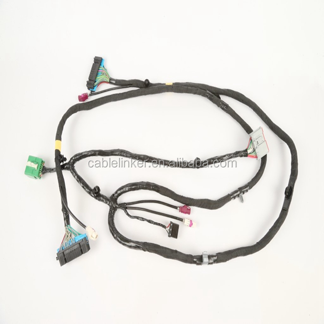 Automotive Wire Loom Tubing With Female Amp/tyco Connector - Buy ...