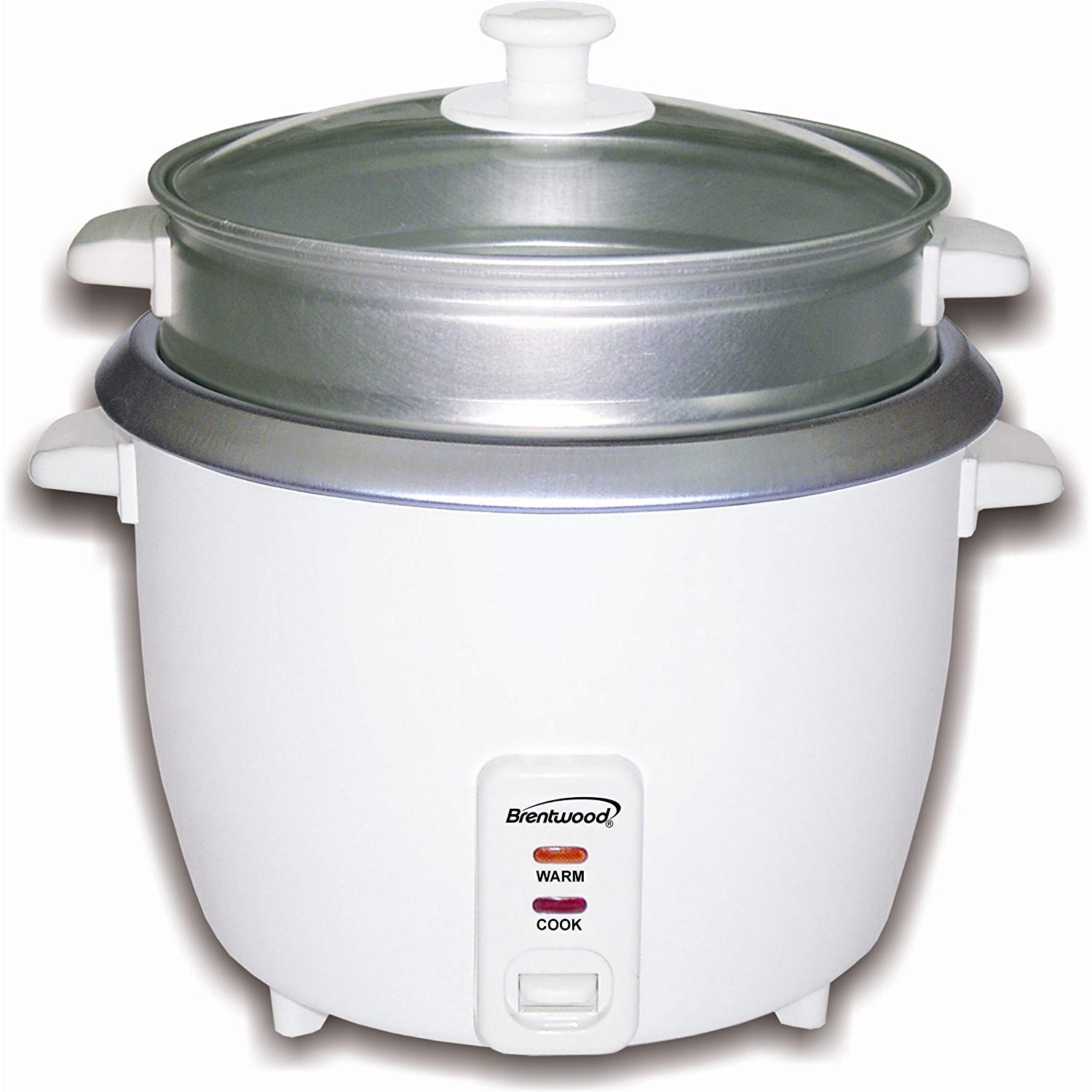 Brentwood Rice Cooker/Steamer, 8 Cups