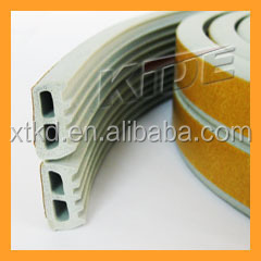 China supplier self-adhesive rubber waterproof door seal E/P/D/I shape