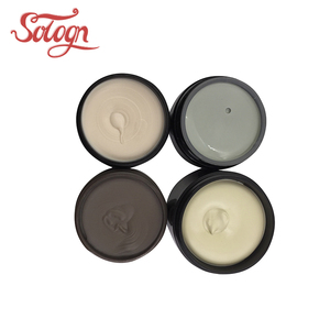 OEM private labels best quality plastic jar container matte clay and hot sale 2018 wholesale hair pomade wax matt clay