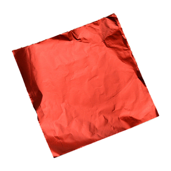 Custom Color Chocolate Wrapping red Aluminum Foil chocolate bar wrapper foil China supplier