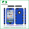Hot selling good quality 3 in 1 combo case TPU PC armor case for iphone 5s/6s/6plus