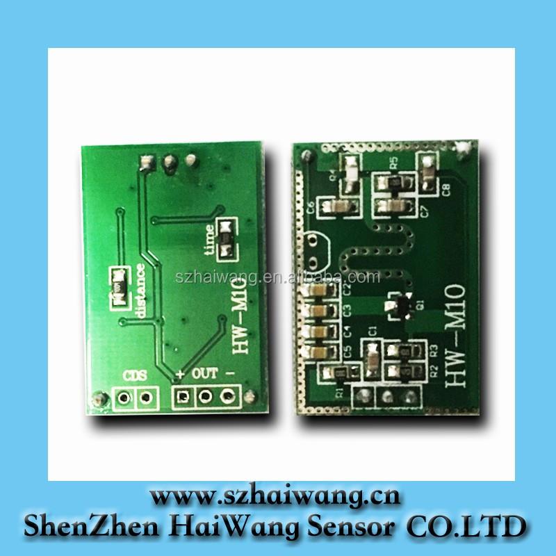 10 525ghz Hw M10 Price Microwave Radar Motion Sensor Module For Ceiling Light