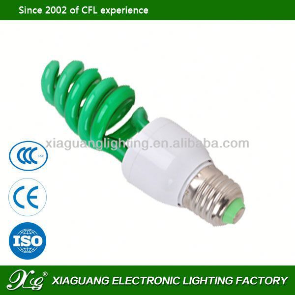 E27 High Power Factory Wholesales Price g9 cfl half spiral cfl e40 85w