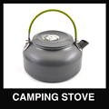 1 2L portable outdoor camping Water Kettle Teapot Anodised Aluminum