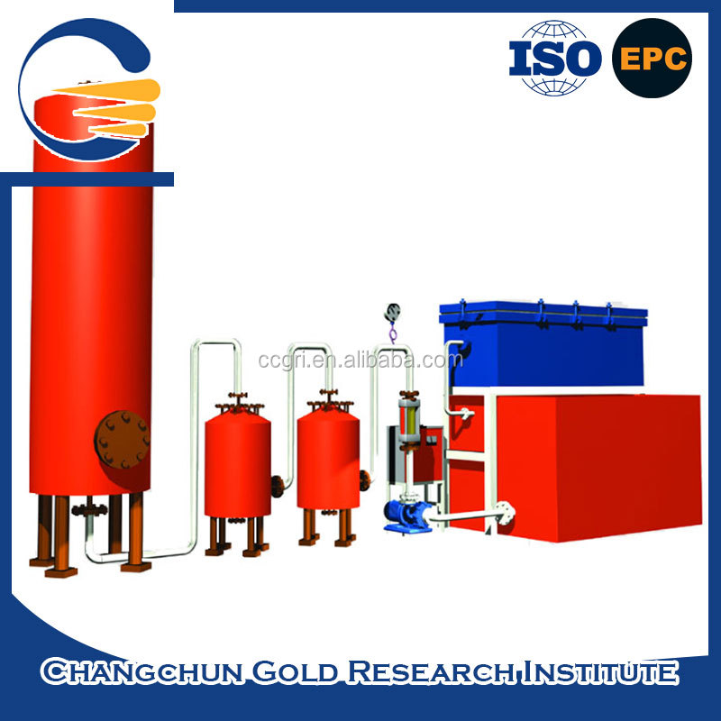Hot sale oem low pressure extraction gold electrolysis process