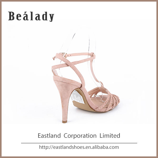 Fashion sexy shoe fancy leather lady woman sandal