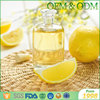High quality body skin refreshing lemon essential oil body massage oil