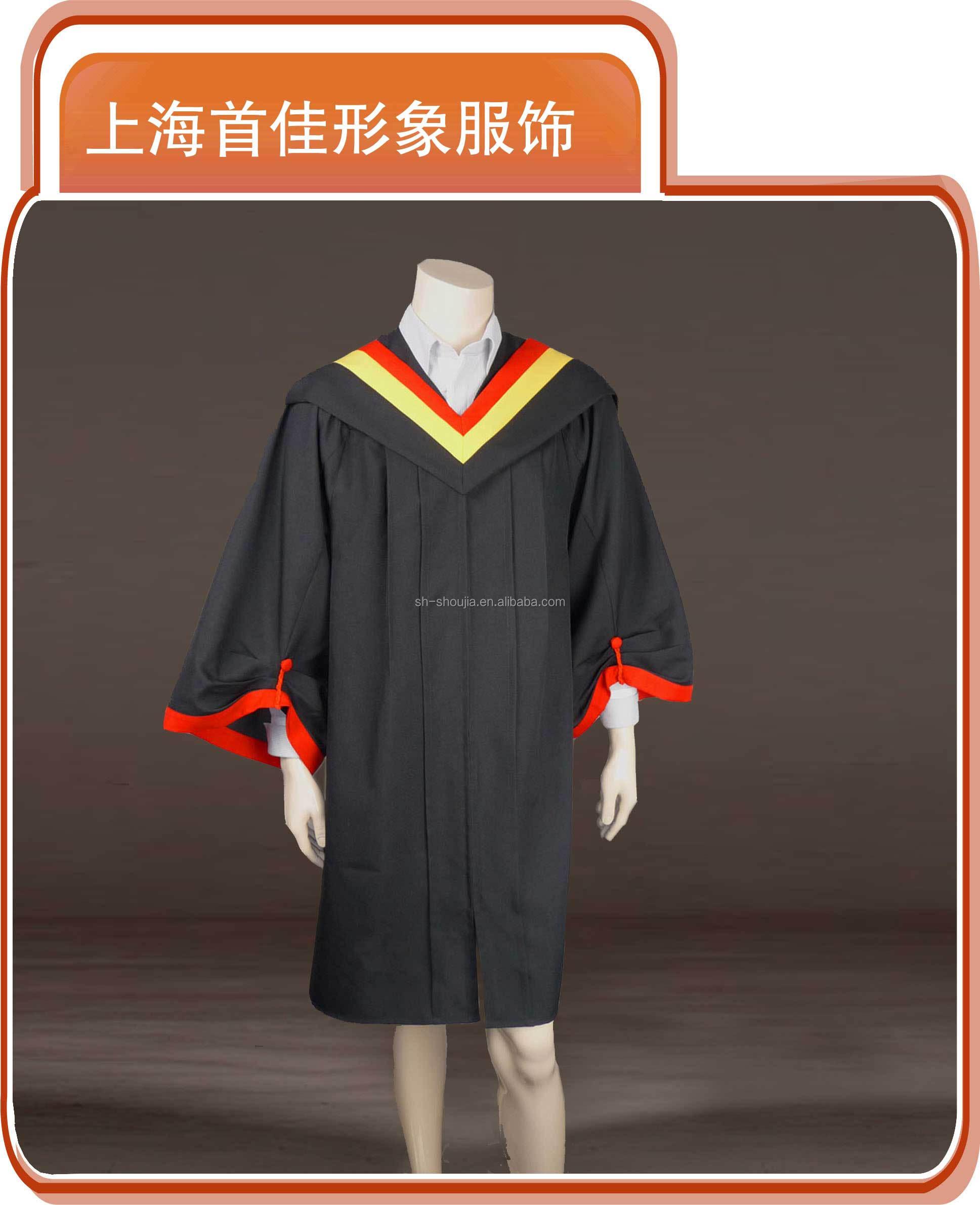 2015 Shanghai Shoujia High School Graduation Cap And Gown,Univeisity ...