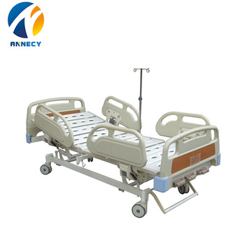 AC-MB006 hospital equipment 3 crank medical hospital clinic examination bed for sale