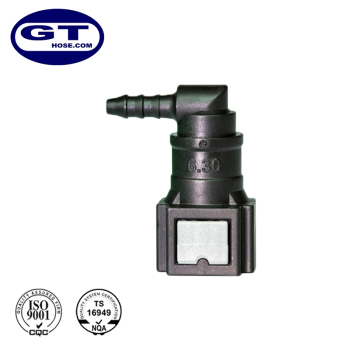 "SAE6.30-ID3-90 5 -7 bar Auto 1/4"" Fuel Liquid Quick Connectors"