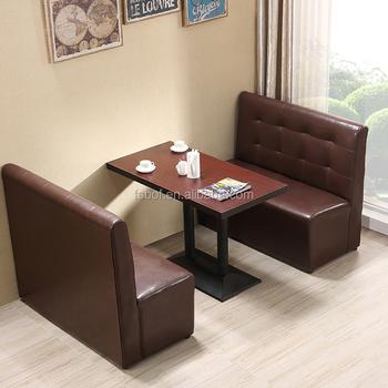 Whole Modern Restaurant Booth Seating European Sofa Bench R1705