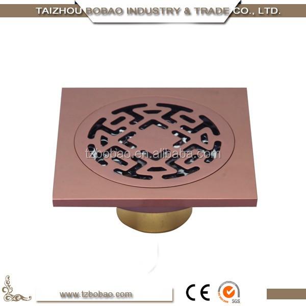 9450M rose gold floor drain