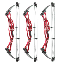 Best selling Compound Bow 40-60lbs Aluminum Alloy Slingshot Bow with Peep Sight for Adult Hunter Outdoor Hunting