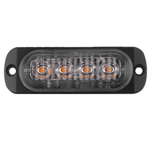 Condução do carro Flash 4LED Ltrobe Captador de Luz Decorativa Luz de Advertência do Lado Ultra-Fina Luz 12 v-24 v 12 w <span class=keywords><strong>DIY</strong></span>