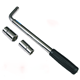 Telescopic Wheel Nut Wrench/Telescoping Lug Socket Wrench, Wheel Wrench - Standard CR-V Socket