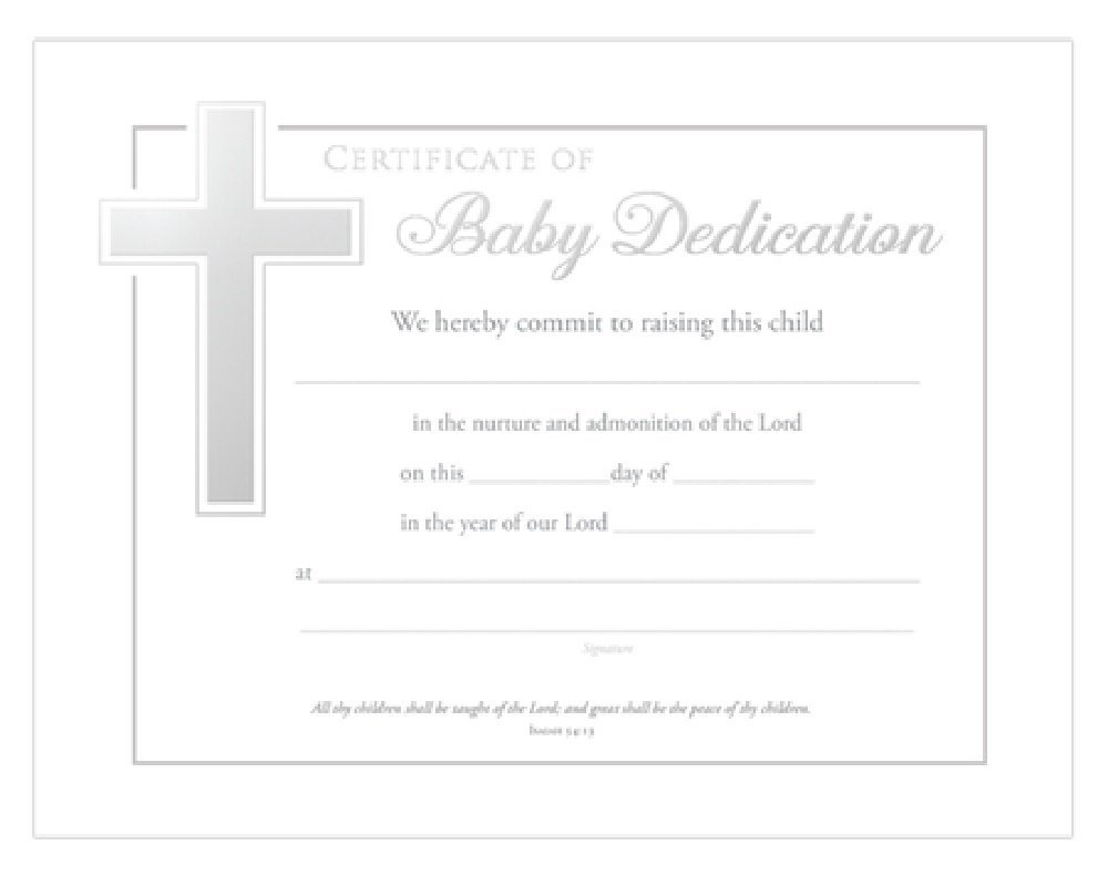 Cheap Baby Dedication Certificates Find Baby Dedication