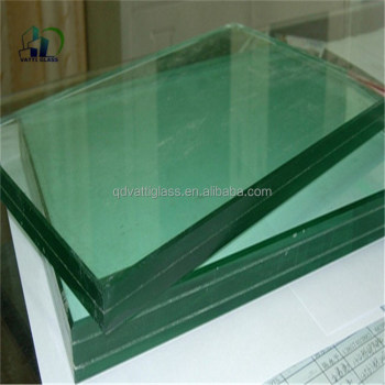 Laminated Glass Unbreakable Glass Sheet /colored Pvb Film Laminated ...
