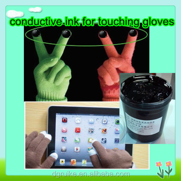 highly electrically conductive silicone ink for outdoor sports gloves printing