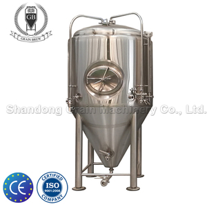 Turnkey Project 20HL Conical Fermenter unitank with glycol cooling jacket