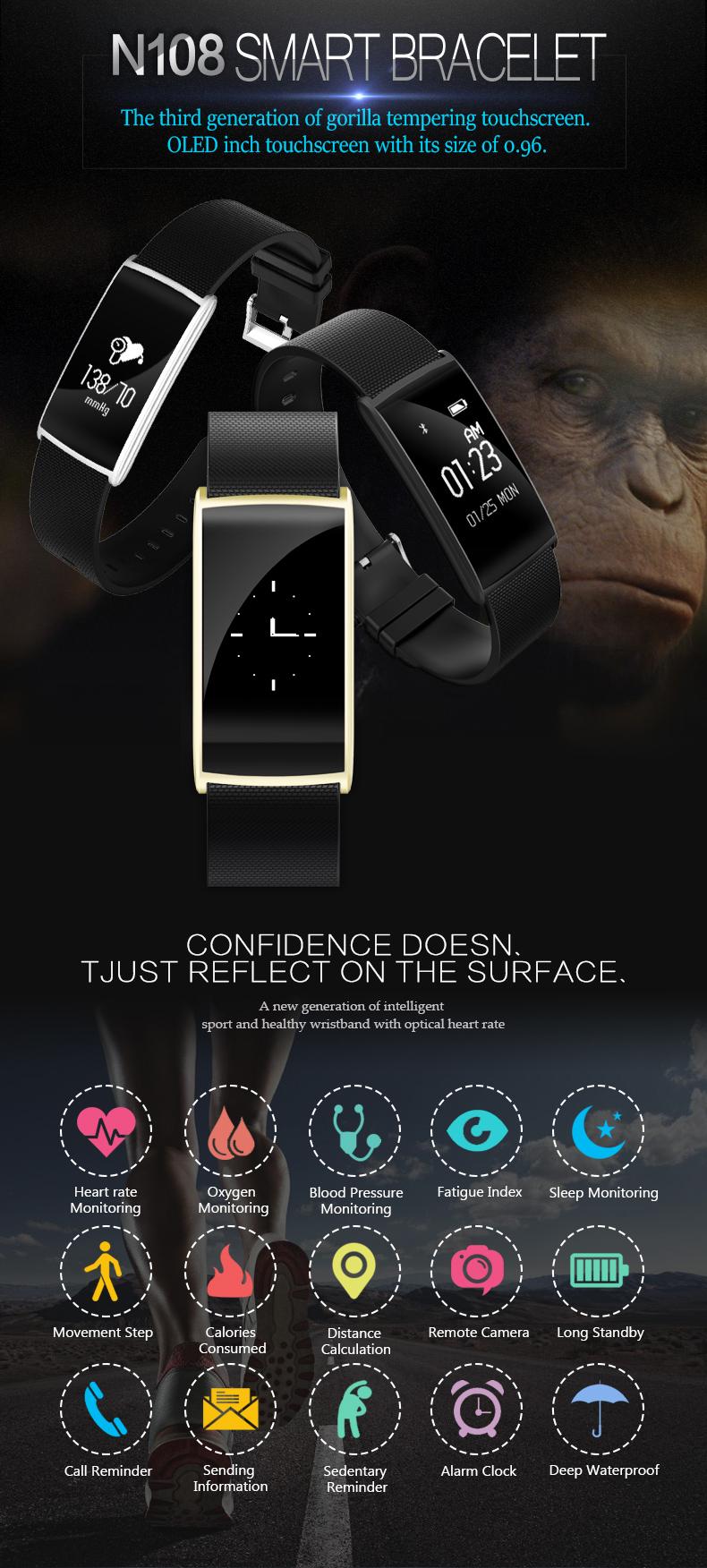 4.0 Fitness Wristband Activity cheap smart bracelet