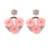 Dvacaman Women Statement Geometric Crystal Beads Dangle Drop Earrings Fashion Jewelry for Wedding