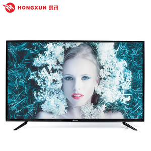 China Guangzhou TV factory price and top quality wholesale big HD smart TV 55 inch to accept custom logo and size