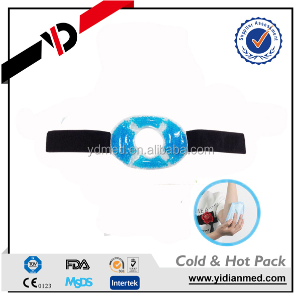 Hot & Cold Forehead Wrap For Migraine relief wrap hot cold therapy pack