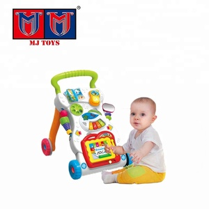 Simple toddler music car baby walker for tall baby