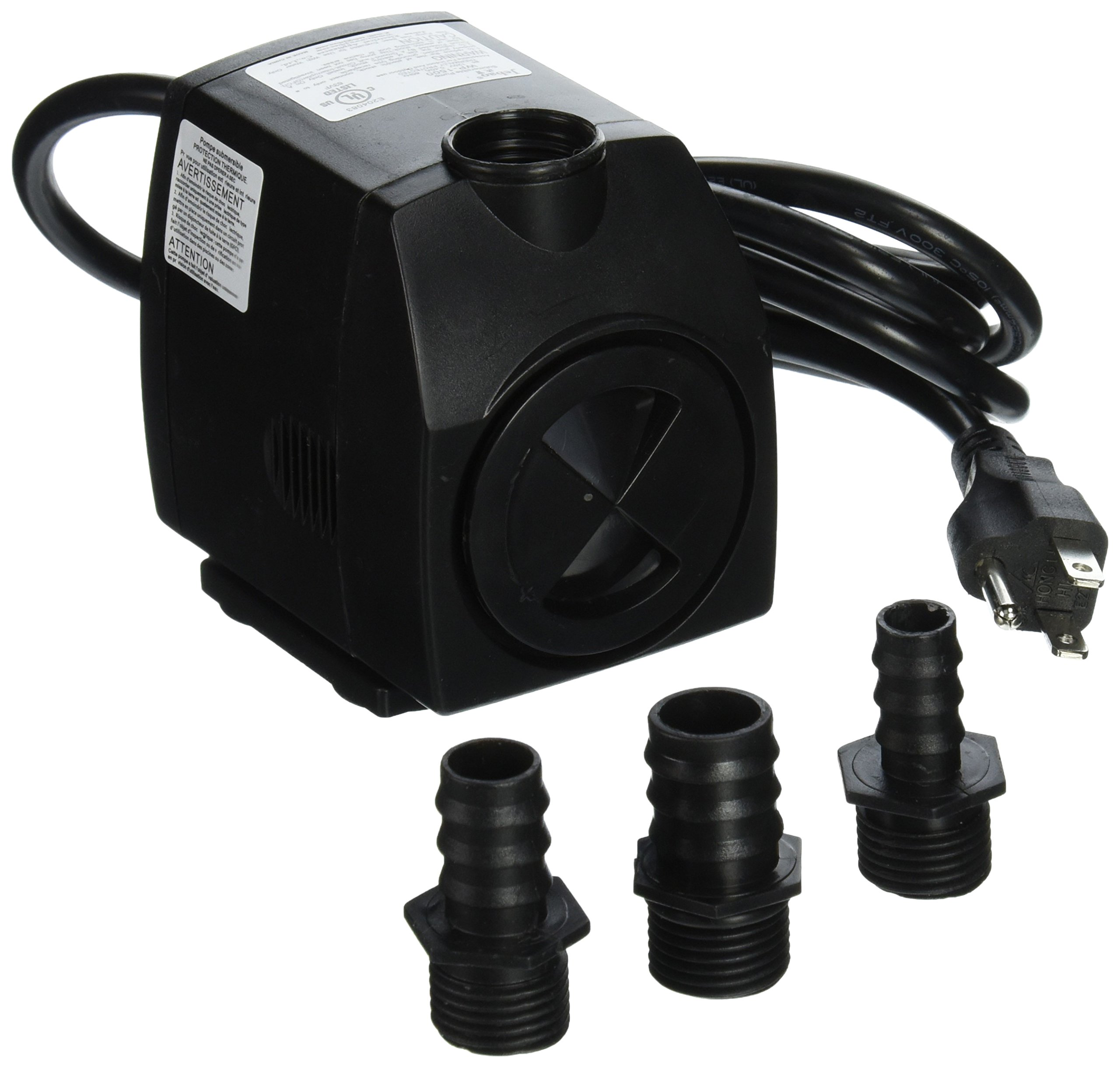 Jebao WP1500 Submersible, Hydroponics, Aquaponics, Fountain Pump 400gph, 25w