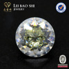 Synthetic hot sale Mixed Color Specious Round Shape CZ Stone gemstone Mixed Color Synthetic Diamond