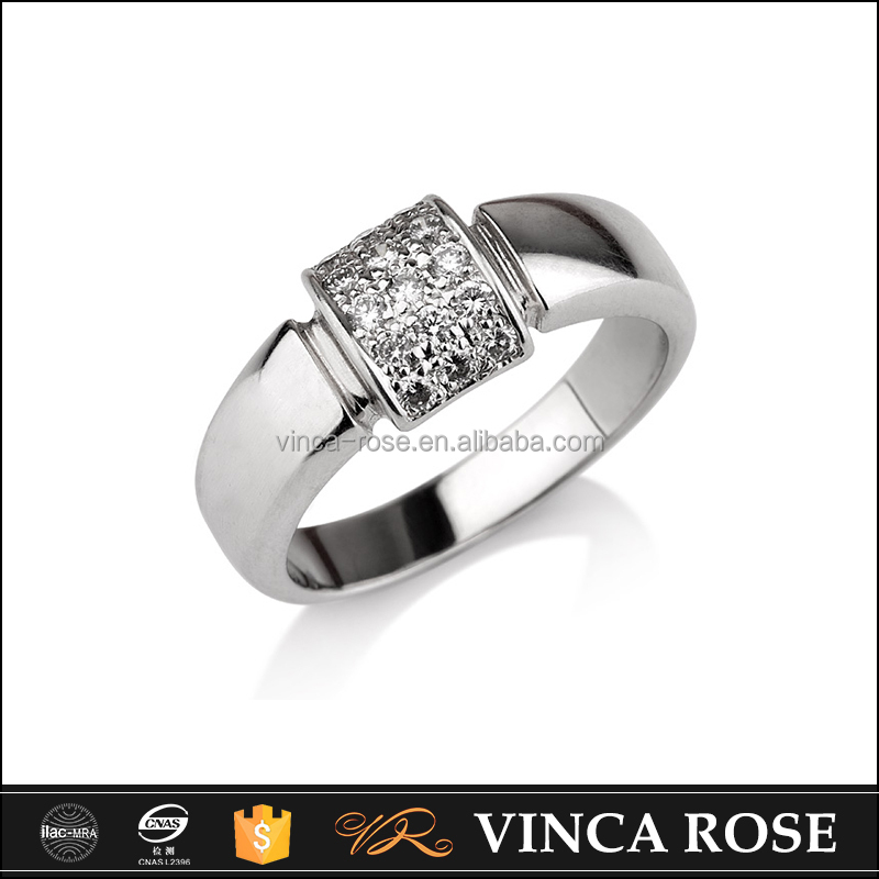 wholesale Pure and transparent 925 sterling silver that silver ring