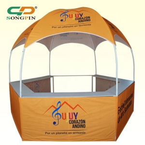 2018 new style custom mini dome gazebo tent with counters