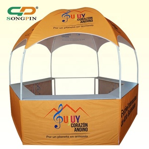 2019 new style custom mini dome gazebo tent with counters