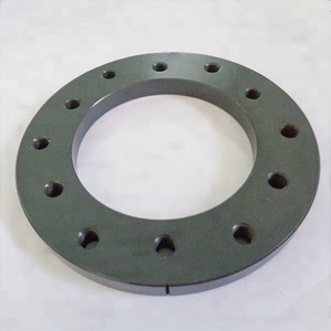 custom made powder coated carbon steel flange