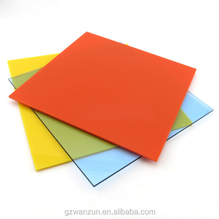 Color Acrylic Sheet for Vacuum Forming