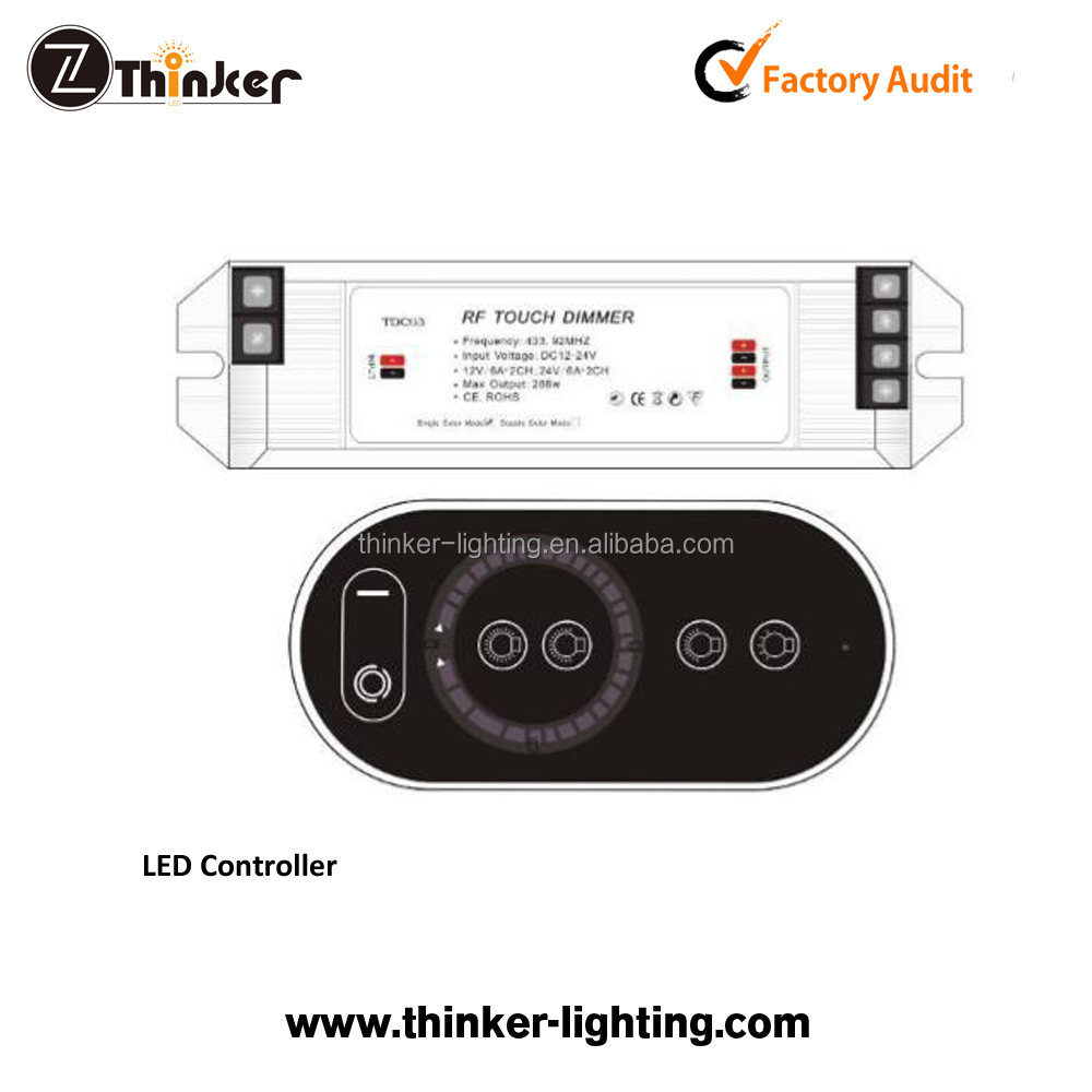 Lighting Accessories Dimmer Controller Switch Mini Dc 12v 3 Keys For Single Color 5050 3528 5630 5730 3014 Led Strip Lamps Light Lighting Packing Of Nominated Brand