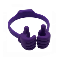 Ok Two Hands Adjustable Stand Thumbs Up Mobile Phone Holder In Indian Market