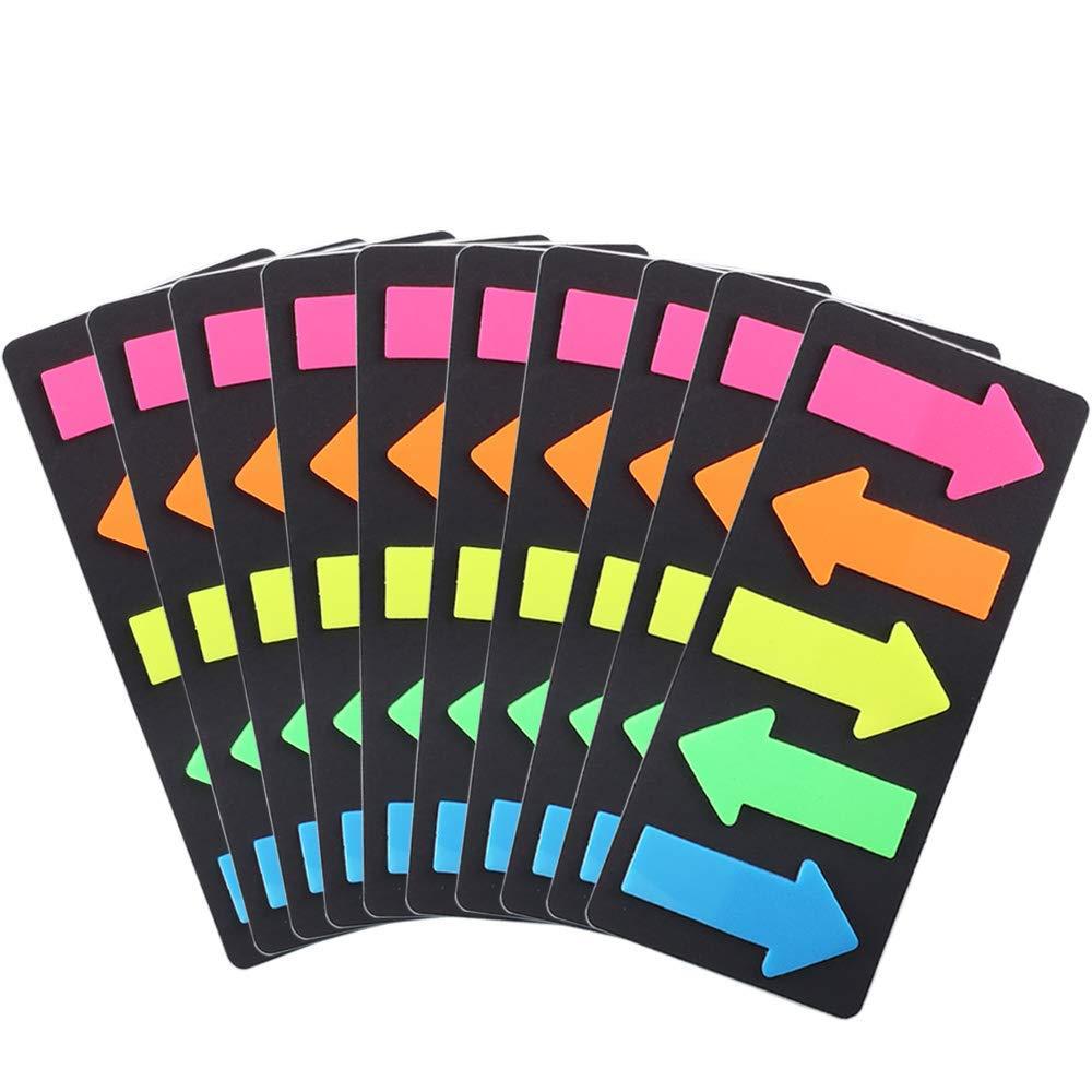 Reader highlighter strips