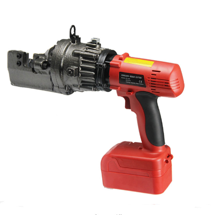 20mm Portable handheld Battery   Cordless rebar cutting machine