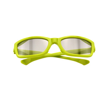 Green Black Cinemas Real D 3D Glasses For LG 3D TVs,Adult Sized Passive Circular Polarized 3D Glasses for Movies