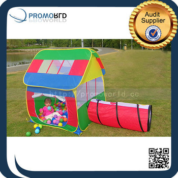 Kids House Shaped Play Tents Outdoor C&ing House Tent With Tunnel  sc 1 st  Alibaba & Kids House Shaped Play Tents Outdoor Camping House Tent With ...