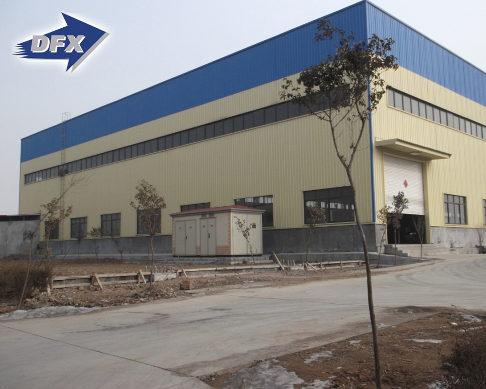 High Quality Assemble Building Prefabricated Steel Frame Structure Workshop